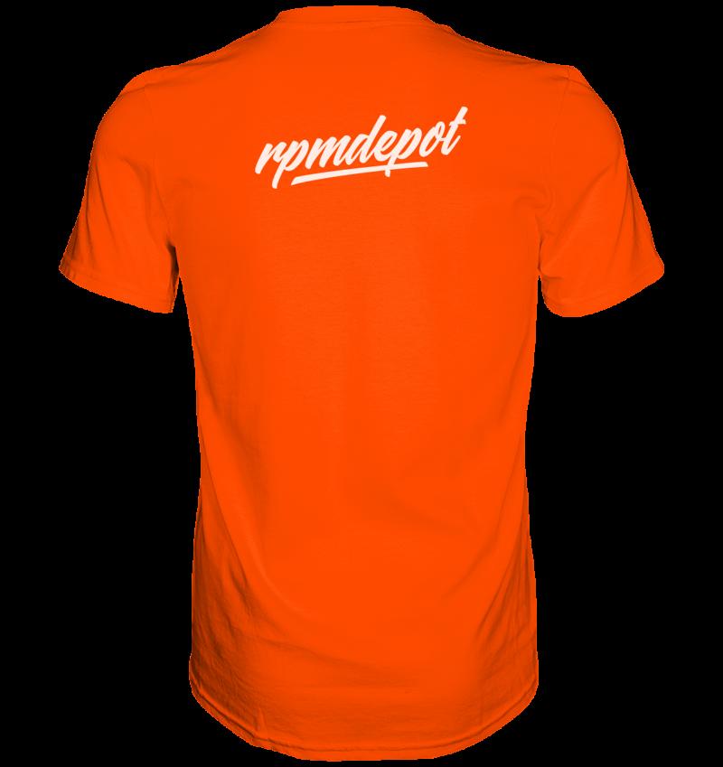 back premium shirt ff4b00