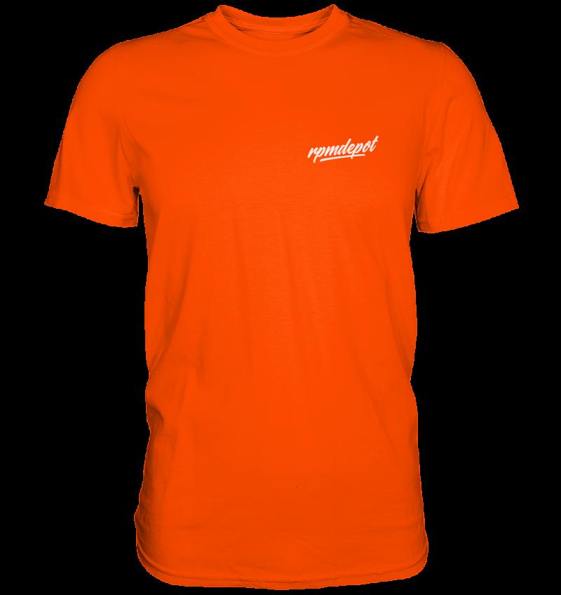 front premium shirt ff4b00