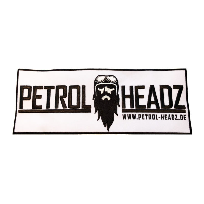 ART 000204 PETROL HEADZ Patch Aufnäher gross 28 x 10cm